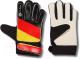 Перчатки вратарские Indigo 200023 (S, черный/красный/желтый) -