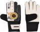 Перчатки вратарские Indigo 1408 (размер 6, черный/белый) -