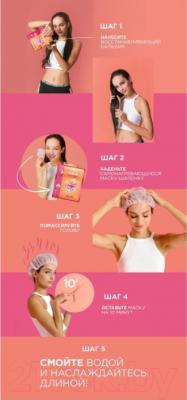 Маска для волос L'Oreal Paris Elseve длина мечты маска+шапочка (20мл)