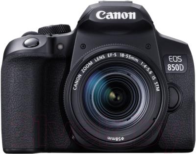 Зеркальный фотоаппарат Canon EOS 850D Kit EF-S 18-55mm IS STM / 3925C002 фотоаппарат canon eos m50 kit ef m 15 45mm f 3 5 6 3 is stm white 2681c012
