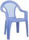 Стул детский Альтернатива Плетенка / М2606 (синий) -