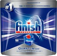 Таблетки для посудомоечных машин Finish Powerball Quantum Max (100шт) -