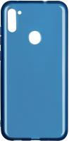 Чехол-накладка Volare Rosso Taura для Galaxy A11 (синий) -