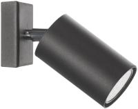 Спот Lampex Rolos 558/K CZA (черный) -