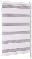 Рулонная штора Delfa Сантайм День-Ночь Стандарт МКД DN-41017 (62x160, белый) -