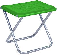 Табурет складной Ника С пластиковым сиденьем / ПСП4 (зеленый) -
