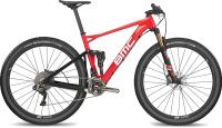 Велосипед BMC Fourstroke 01 SRAM EAGLE GX 1x12 2018 / FS01TEAMGX (M, красный) -