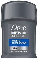 Антиперспирант-стик Dove Men+Care защита после бритья (50мл) -