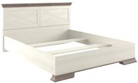 Каркас кровати Gerbor Марсель 160 (ясень снежный/дуб сонома трюфель) -