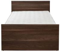 Каркас кровати Gerbor Опен LOZ 120 (орех калифорнийский) -