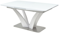 Обеденный стол Дамавер Freya 160 / FRHT5502GNWHT -