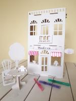 Кукольный домик Grifeldecor Дом-кафе. Булочки на улочке / BZ199-26W285 -