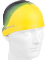 Шапочка для плавания Mad Wave Multi Adult (желтый) -