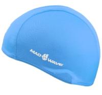 Шапочка для плавания Mad Wave Poly (синий) -