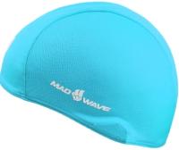 Шапочка для плавания Mad Wave Poly (голубой) -