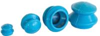 Набор банок для массажа Sipl Силиконовые / AG418 -