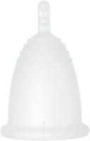 Менструальная чаша Me Luna Sport Stem Clear / MMSSC (M) -