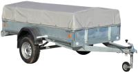 Прицеп для автомобиля ССТ ССТ-7132-6 К низкий (с тентом) -