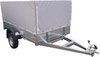 Прицеп для автомобиля ССТ ССТ-7132-06 высокий М (с тентом) -