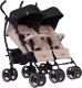 Детская прогулочная коляска EasyGo Duo Comfort (Sand) -