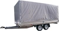 Прицеп для автомобиля ССТ ССТ-7132-35 (с тентом) -