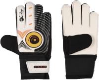 Перчатки вратарские Indigo 1408 (размер 7, черный/белый) -