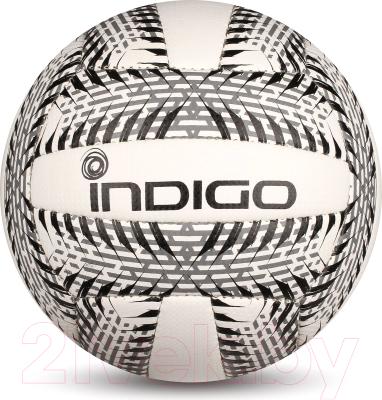 Мяч волейбольный Indigo Surf IN159 (белый/черный)