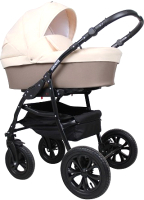 Детская универсальная коляска Smile Line Serenade 20 F 3 в 1 (Se 20, бежевый/светло-бежевый) -