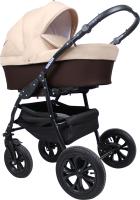 Детская универсальная коляска Smile Line Serenade 20 F 3 в 1 (Se 28, коричневый/бежевый) -