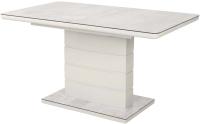 Обеденный стол Дамавер Alta 140 / DT2000140GRWHTWHT -