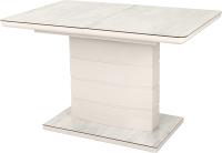 Обеденный стол Дамавер Alta 120 / DT2000120BEIGESF002 -