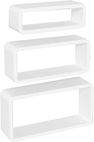 Комплект полок Domax FOS 100 Set of Shelves / 67101 (белый) -