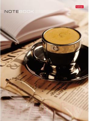 Блокнот Hatber Кофе-брейк / 80ББ4B1-07461