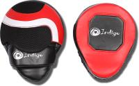 Боксерская лапа Indigo 250043 (красный/черный) -