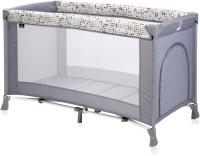 Кровать-манеж Lorelli Verona 1 Grey Dots 10080252078 -