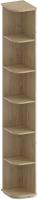 Угловое окончание для шкафа Лером Карина ШК-1052-ГС (гикори джексон светлый) -