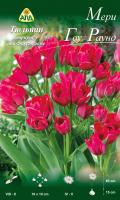 Семена цветов АПД Тюльпан Мери Гоу Раунд многоцветковый / A30802 (10шт) -