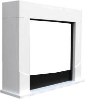 Портал для камина Смолком Luton 2 R GL (фактурный белый) -