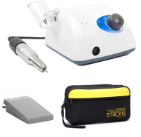 Аппарат для маникюра STRONG 210/120 (с педалью в сумке) -