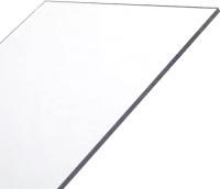 Монолитный поликарбонат Карбогласс Кристалл 2050x3050 (4мм, прозрачный) -