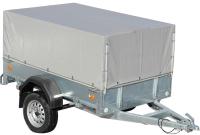 Прицеп для автомобиля ССТ ССТ-7132-03 высокий (с тентом) -