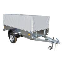 Прицеп для автомобиля ССТ ССТ-7132-02 высокий М (с тентом) -