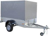 Прицеп для автомобиля ССТ ССТ-7132-06 прямой (с тентом) -