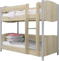 Двухъярусная кровать Лером Валерия КР-123-СН 90x190 (дуб cонома) -