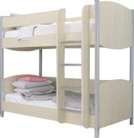 Двухъярусная кровать Лером Валерия КР-123-БД 90x190 (дуб беленый) -