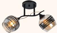 Потолочный светильник Mirastyle MX-5088/2 B BK -