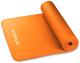 Коврик для йоги и фитнеса Indigo NBR IN104 (оранжевый) -