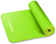 Коврик для йоги и фитнеса Indigo NBR IN104 (зеленый) -