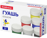 Гуашь Erich Krause Basic / 50543 (6цв) -