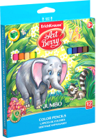 Набор цветных карандашей Erich Krause Artberry Jumbo / 32474 (12цв) -